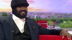 BBC News - Gregory Porter: Music is my therapy