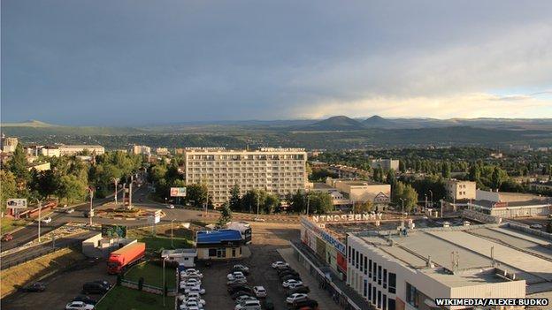 A view over Pyatigorsk