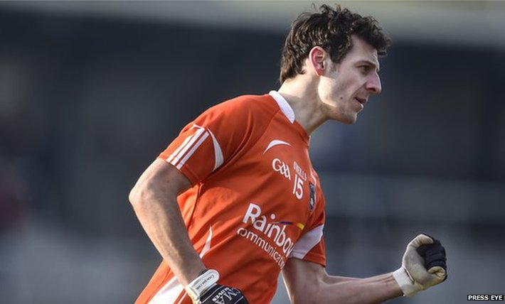 Jamie Clarke's two late points helped Armagh snatch a fortunate victory over Tipperary in Division 3