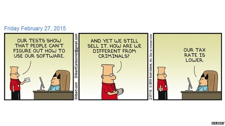 Dilbert cartoon
