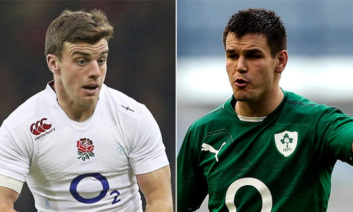 George Ford and Jonathan Sexton