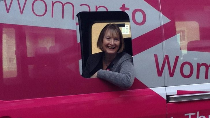 Harriet Harman in Wirral