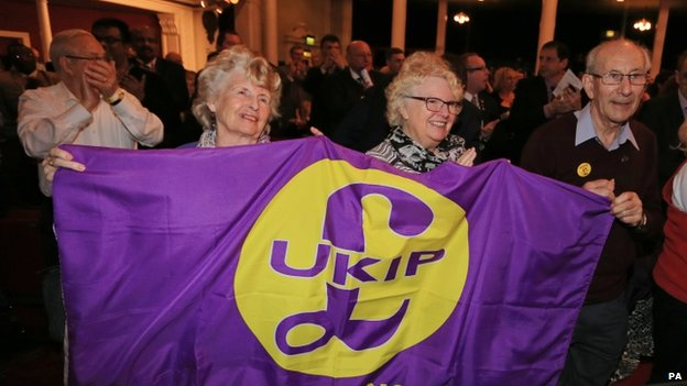 UKIP activists at their Spring conference