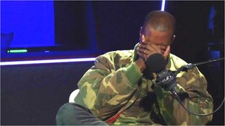 BBC News - Kanye West reduced to tears during interview on Radio 1