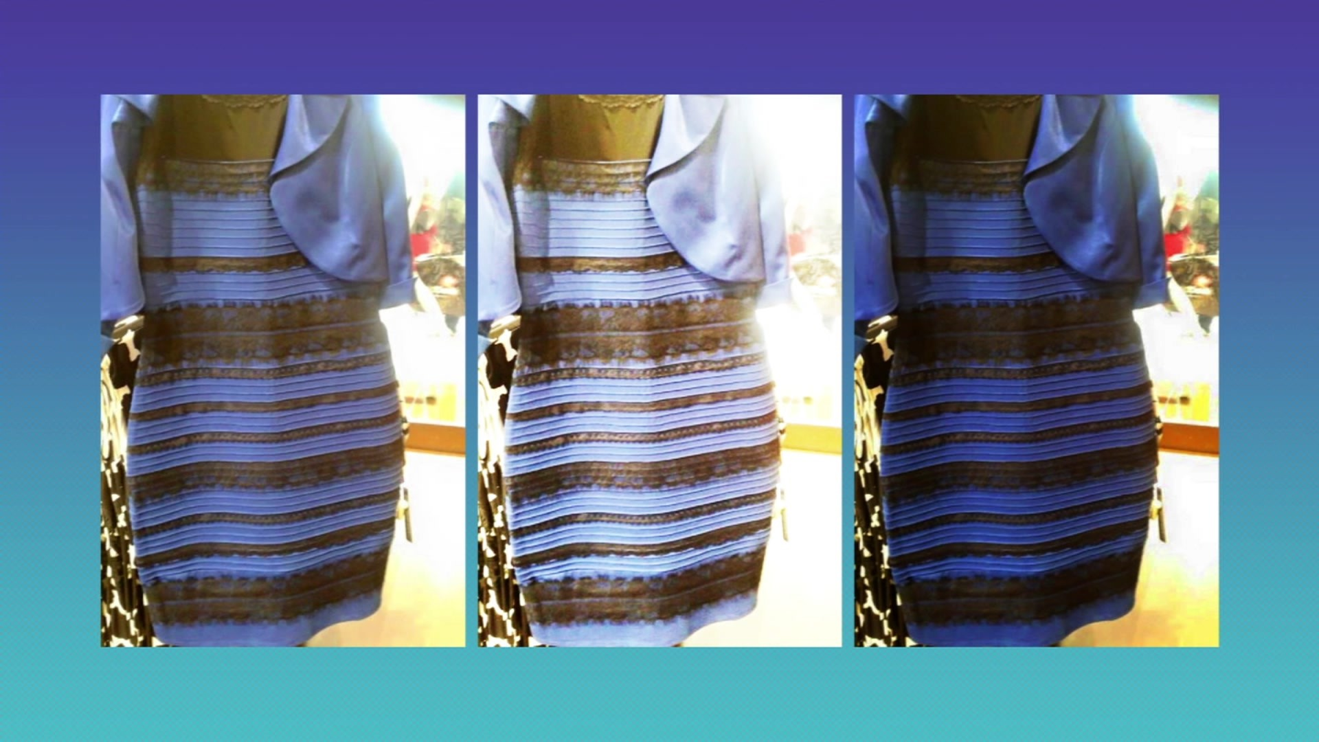 Blue Black Or White Gold The Dress The World S Been