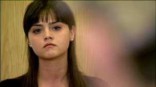 Jenna Coleman as Lindsay in Waterloo Road
