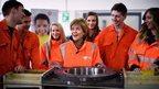 nicola sturgeon and apprentices