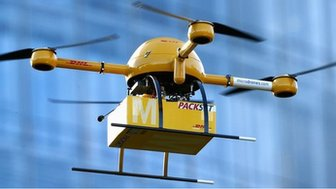 Deutsche Post parcel drones