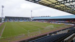 Dens Park stadium