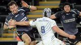 Ospreys' Tom Grabham in action