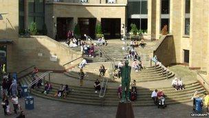 Glasgow Royal Concert Hall steps