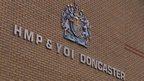 HMP Doncaster sign