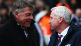 Sam Allardyce and Alan Pardew