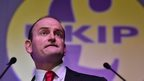 UKIP MP Douglas Carswell delivers a speech on the second day of the UKIP spring conference in Margate, Kent