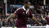 Hearts striker Genero Zeefuik