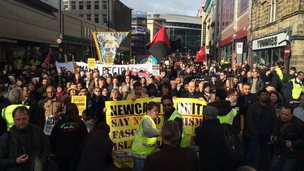 Anti-Pegida rally