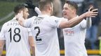 Hibernian were 1-0 winners at Alloa
