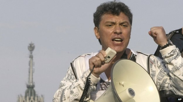Boris Nemtsov in Moscow, May 2012