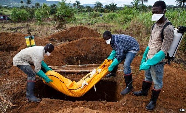 S Leone vice-president in quarantine...