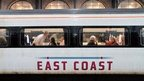 An East Coast line train