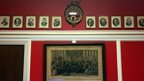'Downton Abbey' style interior of office of Republican Congressman Aaron Schock