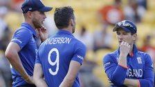 Stuart Broad, James Anderson & Eoin Morgan
