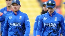 England captain Eoin Morgan and Ian Bell