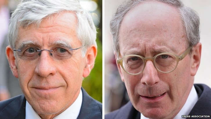 Jack Straw and Malcolm Rifkind
