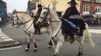 Pwllheli parade
