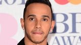 Lewis Hamilton at the Brits