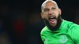Everton keeper Tim Howard