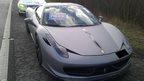 Impounded Ferrari