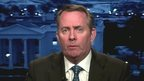 Former Conservative defence secretary Liam Fox speaking on BBC1's Sunday Politics