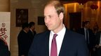 Duke of Cambridge arrives in China