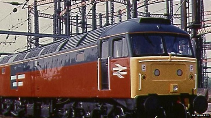 The British Rail Class 47 locomotive 2