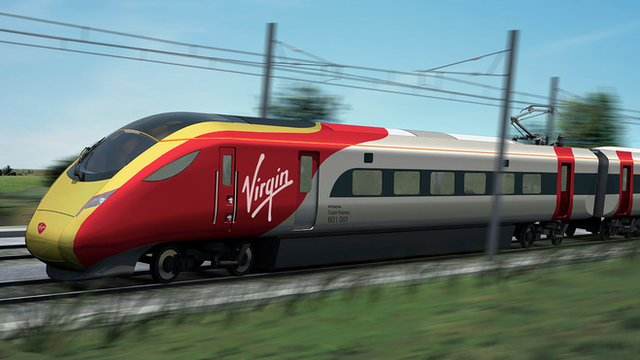 New Virgin East Coast livery