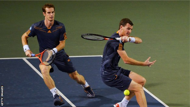 Andy Murray and his brother Jamie have been named in Great Britain's team to compete against the United States in The Davis Cup