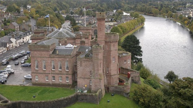 Inverness Castle's North Tower