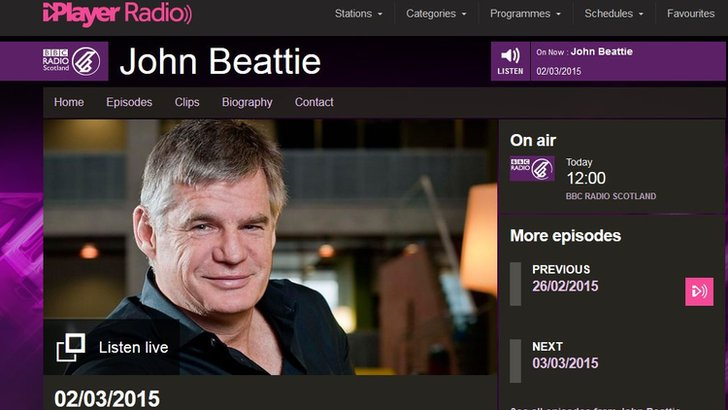 The John Beattie Show