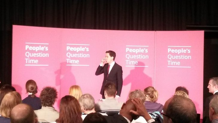 Ed Miliband at People's Question Time
