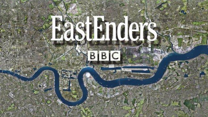 EastEnders title