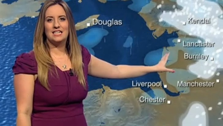 Anna Church, BBC weather presenter