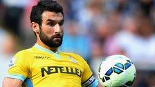 Crystal Palace midfielder Mile Jedinak