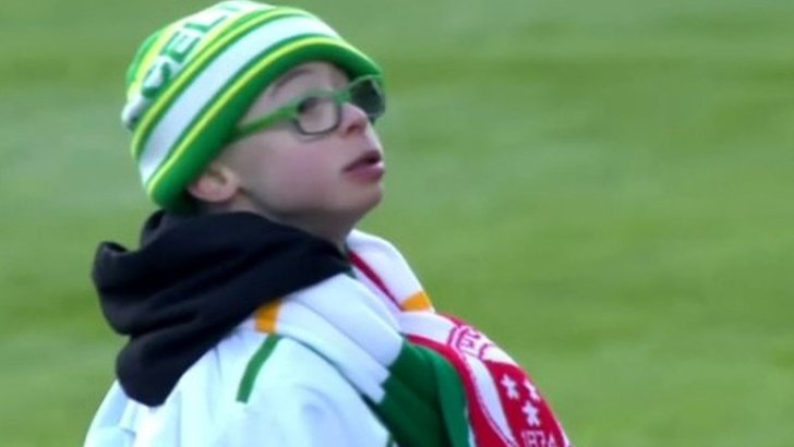Celtic fan Jay Beatty