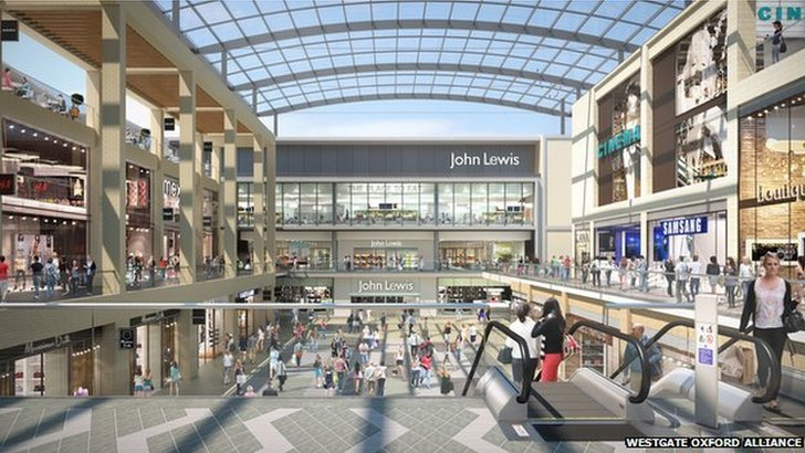 Artist's impression of new Westgate development