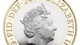Fifth coinage portrait of the queen