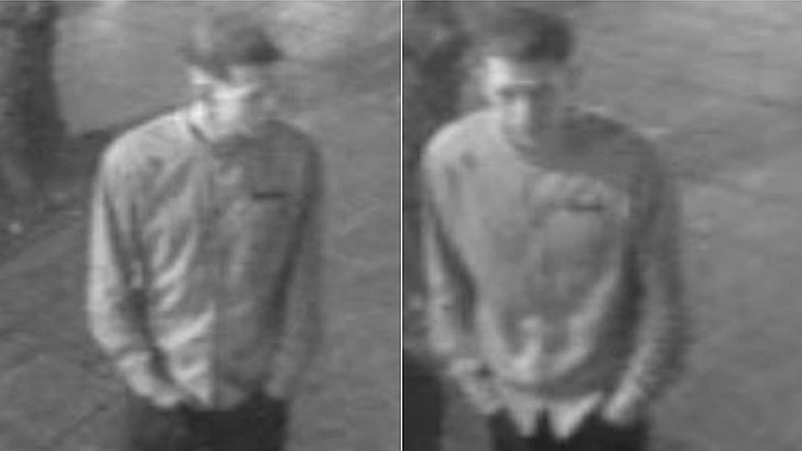 Image of man police want to question