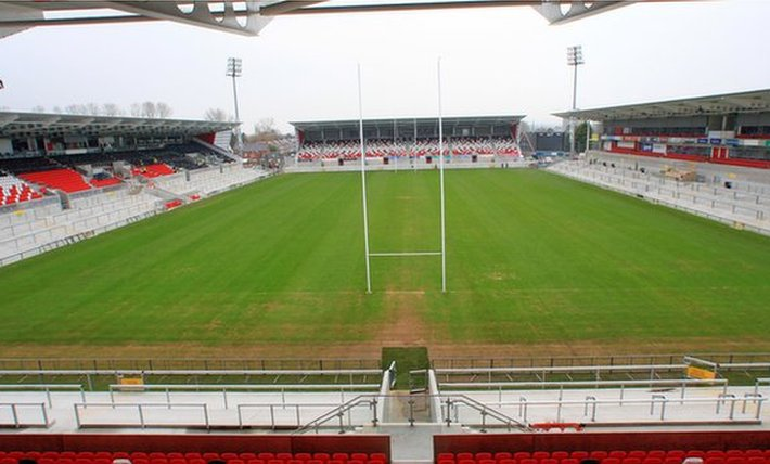 A view of the redeveloped Ravenhill