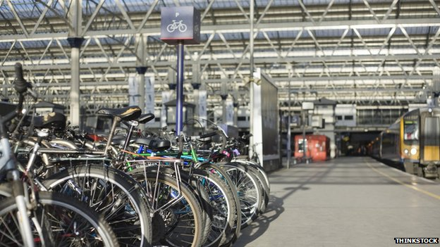 The transport minister said bike storage at stations was part of Abellio's plans to cope with cycling demand