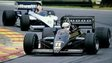 Lotus 97T driven by Elio de Angelis